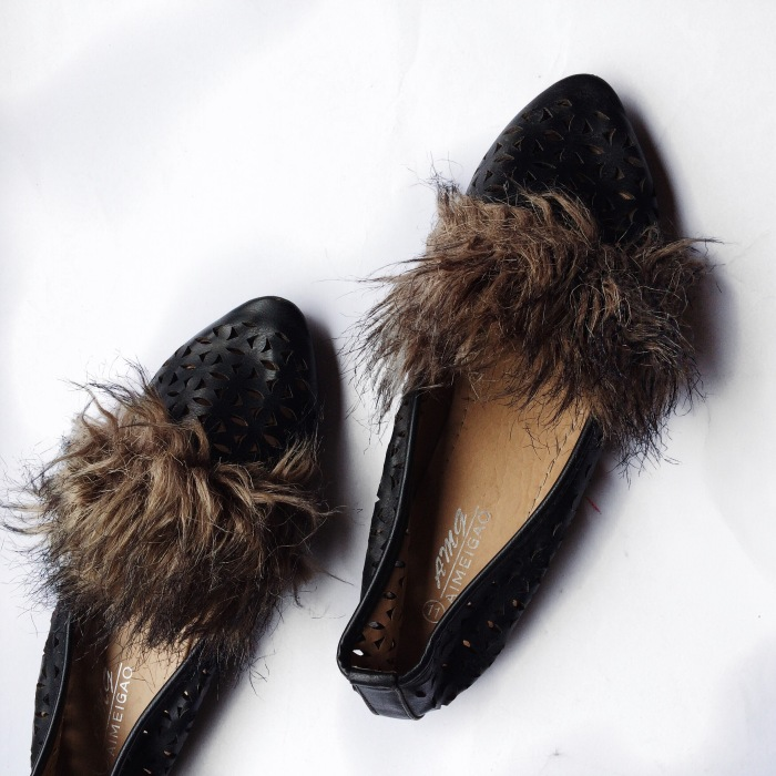 shoes for stylish women, womens style, whowhatfab, thriftstyle, fur